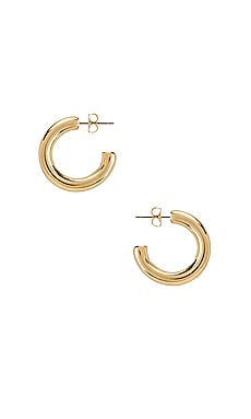 Harper Chunky Hoop Earrings Five and Two $56 BEST SELLER