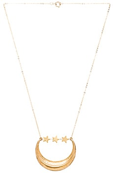 Five and Two Rafe Necklace in Gold