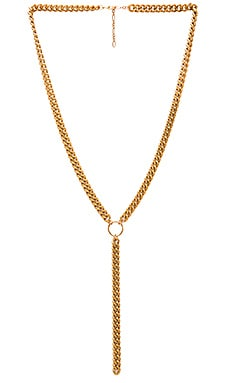 Dante Necklace in Brass