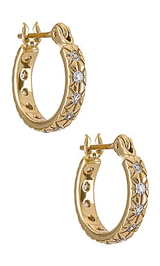 Lisbeth Gold Plating Earring Five and Two $65