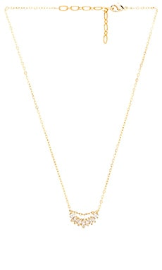 Five and Two Lake Necklace in Gold