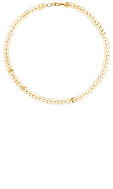 Five and Two Venus Choker Necklace in Gold