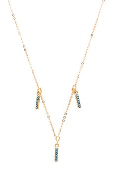 Five and Two Harper Choker in Gold & Turquoise