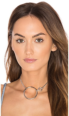 York Convertible Choker & Bracelet in Rhodium