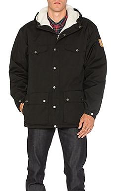 Купить Зимняя куртка greenland - Fjallraven черного цвета