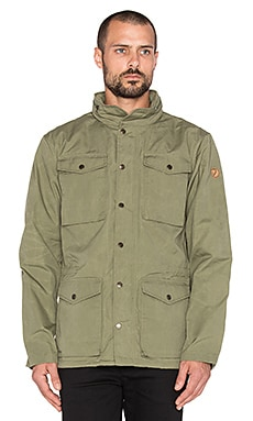 Fjallraven Raven Jacket in Green