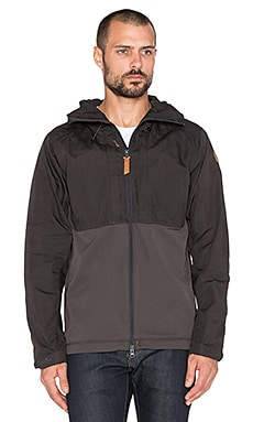 Fjallraven Abisko Lite Jacket in Dark Grey