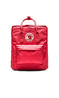 Fjallraven Kanken in Peach Pink