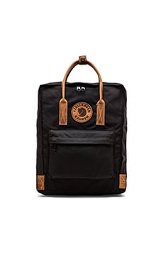 Fjallraven Kanken No.2 in Black