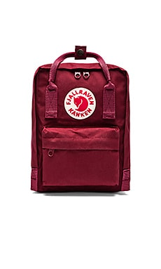 Kanken en Ox Red