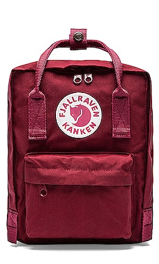 Fjallraven Kanken Mini Backpack in Ox Red