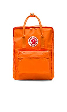 Kanken in Burnt Orange