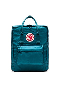Fjallraven Kanken in Ocean Green