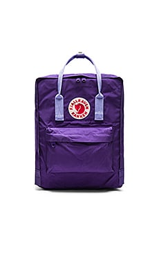 Fjallraven Kanken in Purple & Violet