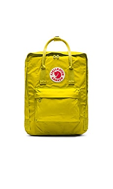 Fjallraven Kanken in Birch Green