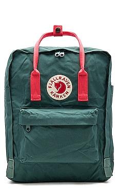 Fjallraven Kanken Mini Backpack, Frost Green Peach Pink | TANGS Singapore