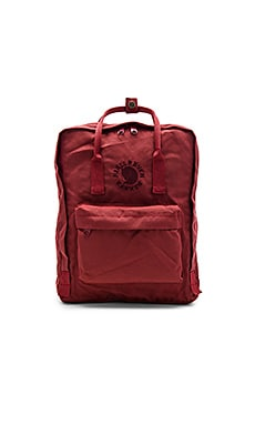 Fjallraven Re-Kanken in Ox Red