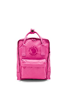 Fjallraven Re-Kanken Mini in Pink Rose