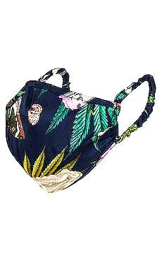 Silk Face Mask fleur du mal $28 (FINAL SALE)