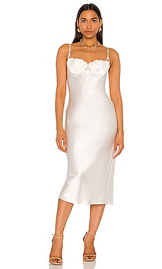 Lily Slip Dress fleur du mal $495