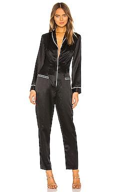 Long Sleeve Pajama Jumpsuit fleur du mal $595