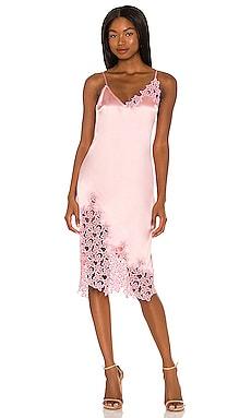 Orchid Embroidery Slip Dress fleur du mal $695