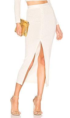 Maxi Slit Skirt fleur du mal $425 NEW ARRIVAL