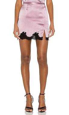 James Lace Skirt fleur du mal $295