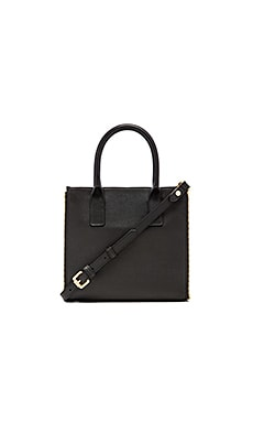 FLYNN Bennison Satchel in Black