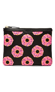 FLYNN Nuts For Donuts Madison Clutch in Sprinkles