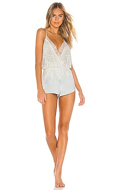 Genevive Romper With Lace Flora Nikrooz $68
