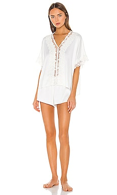 Showstopper Charmeuse PJ Set Flora Nikrooz $120