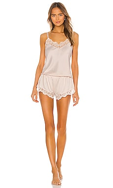 Gabby Charmuese Cami Set With Lace Flora Nikrooz $78