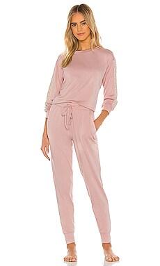 BRUSH KNIT PJ 套裝 Flora Nikrooz $88 暢銷品