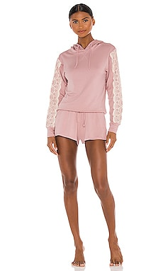 Sally Hoodie Short Set Flora Nikrooz $43 (FINAL SALE)