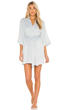 Victoria Solid Charm Wrap Robe Flora Nikrooz $48