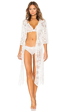 Tracey Embroidered Robe Flora Nikrooz $110