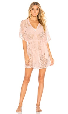 All Over Lace Robe Flora Nikrooz $43