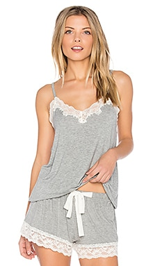 Snuggle Knit Lace Cami