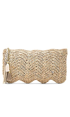 Avon Clutch in Almond Silver