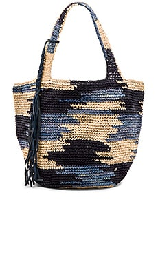 Barrio Tote in Abyss Multi