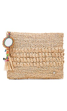 Muga Clutch en Imprimé Naturel