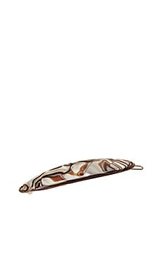 ЗАКОЛКА OBLONG TIGE BOULE BARRETTE France Luxe $13