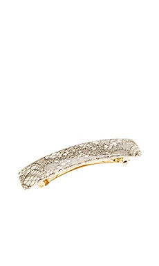 Rectangle Barrette France Luxe $22