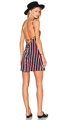 x REVOLVE Anastasia Mini Dress in Stripe