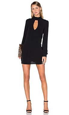 Leah Mini Dress in Black