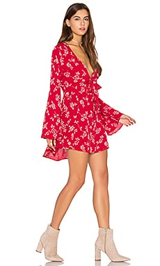 London Mini Dress in Red Head