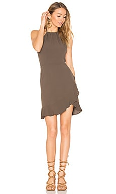 Monica Mini Dress in Forest