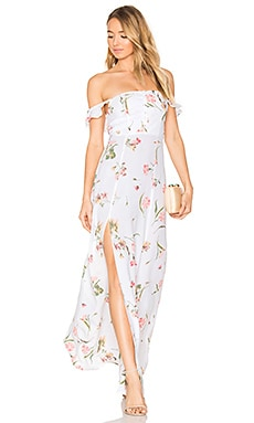 Bardot Maxi Dress in Day Bloom