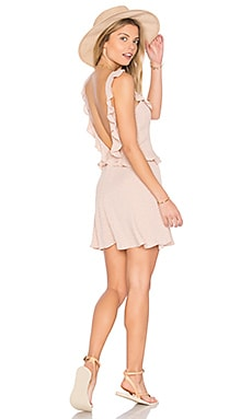 Mimi Dress in Beige Orbit